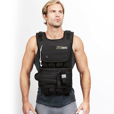 ZFO Sports® - 40LBS Adjustable Weighted Vest