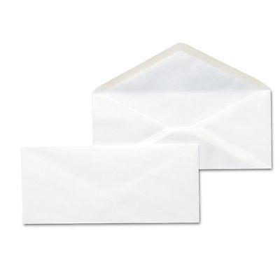 500 White Business Mailing Letter Envelopes Box 10 V-flap