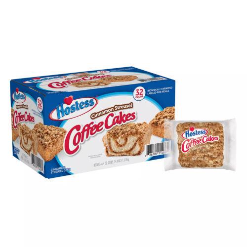 2pcs Hostess Cinnamon Streusel Coffee Cake (1.44oz / 32pk)