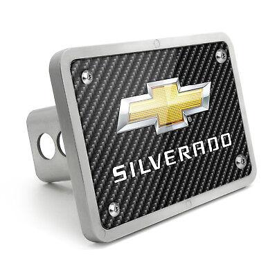 Chevrolet Silverado Graphic Carbon Fiber Texture Billet Aluminum 2