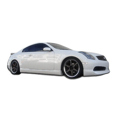 03-07 Fits Infiniti G35 Coupe ING KBD Urethane Side Skirts Body Kit!!! 37-2290 for sale  Shipping to Canada