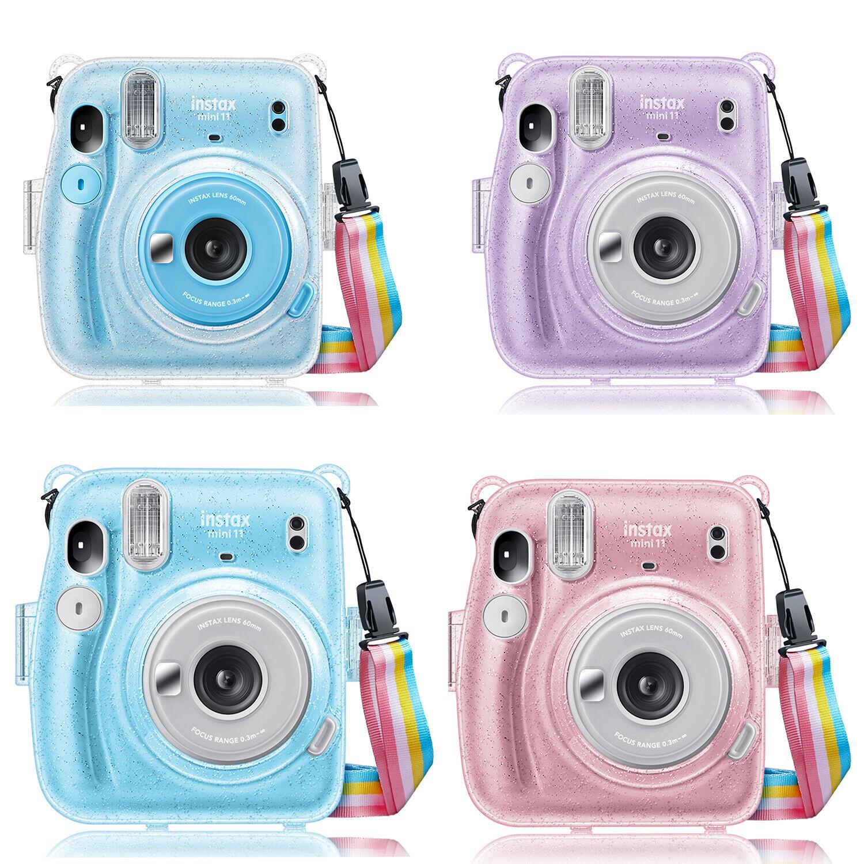 For Fujifilm Instax Mini 11 Instant Film Camera Crystal Case