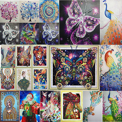5D Special Shape Diamond Painting Colorful Cross Stitch Kit DIY Home Decor Gifts
