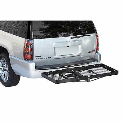 Heavy Duty Rv Cargo Caddy Hitch Carrier Fits In A 2 Receiver Supports 500lbs