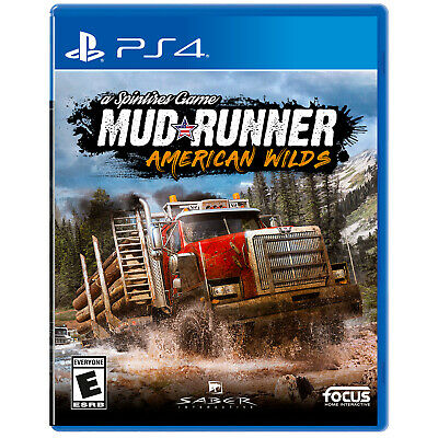 Spintires: MudRunner - American Wilds PS4 [Brand New]