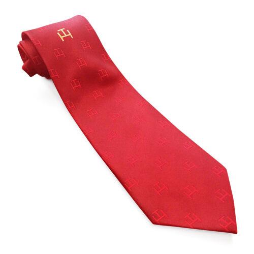 New Red Royal Arch Chapter RA Masonic Tie Superb Quality Masons Regalia Necktie