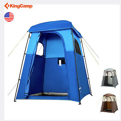 KingCamp Camping Shower Tent Toilet Dressing Privacy Changing Room Portable Tent ()