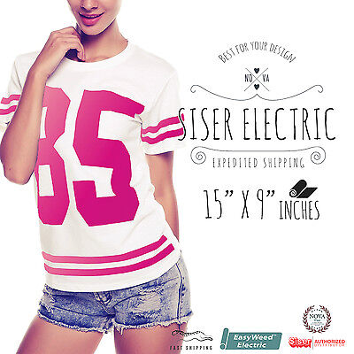Siser Easyweed Electric Heat Transfer Vinyl 15 X 9 Select Your Color