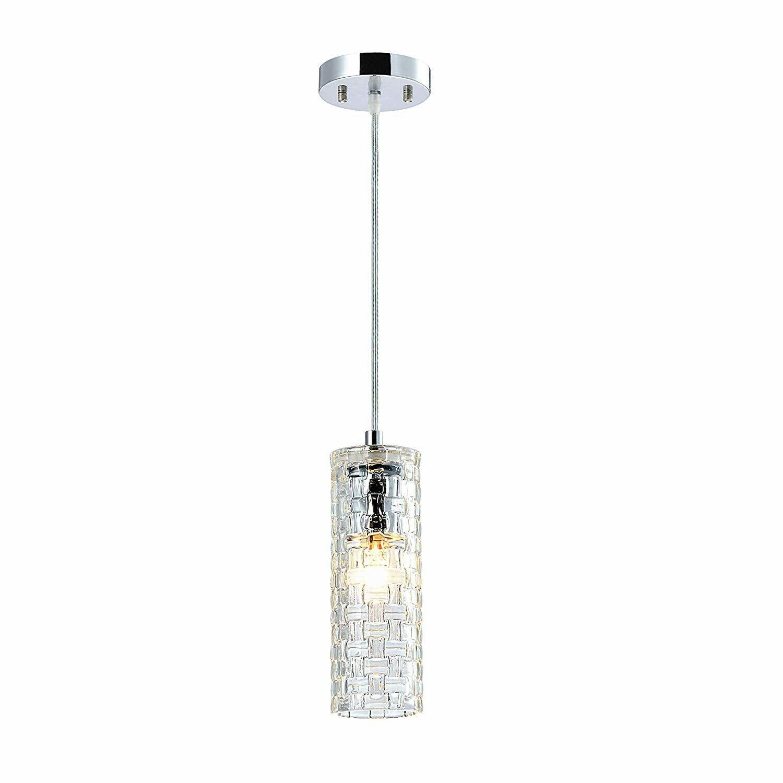 Modern Kitchen Island Lighting Pendant Light Fixture Clear G