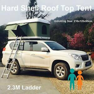 Xmas sale hard pop up roof top tent rooftop fibreglass shell Riverwood Canterbury Area Preview