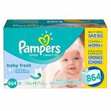 PAMPERS Soft Care Baby Wipes (864 ct.) $0.03each, BABY FRESH & FREE SHIPPING