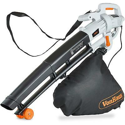 3000W Leaf Blower 3 In 1 Blowers , Garden Vacuum And Mulchers Leaves 35L Compost