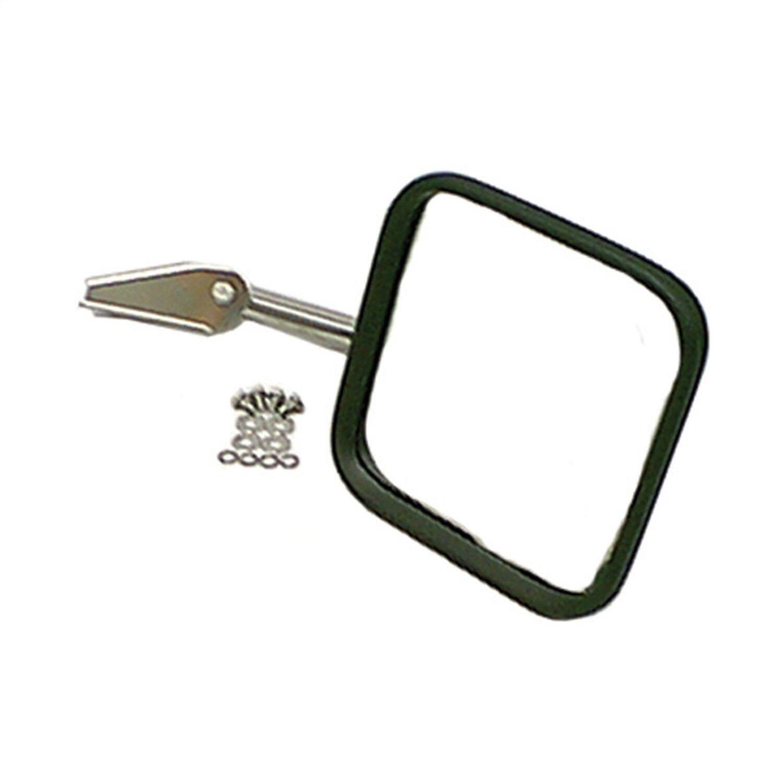Rugged Ridge 11006.01 Stainless Square Mirror Head