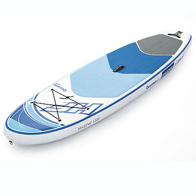 Bestway Hydro Force Inflatable 10 Foot Oceana Tech Sup Stand Up Paddle Board