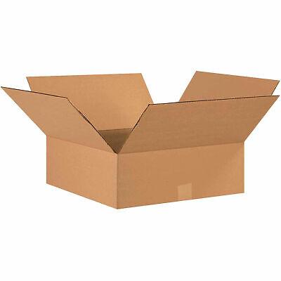 17 X 17 X 6 Flat Cardboard Corrugated Boxes 65 Lbs Capacity 200ect-32