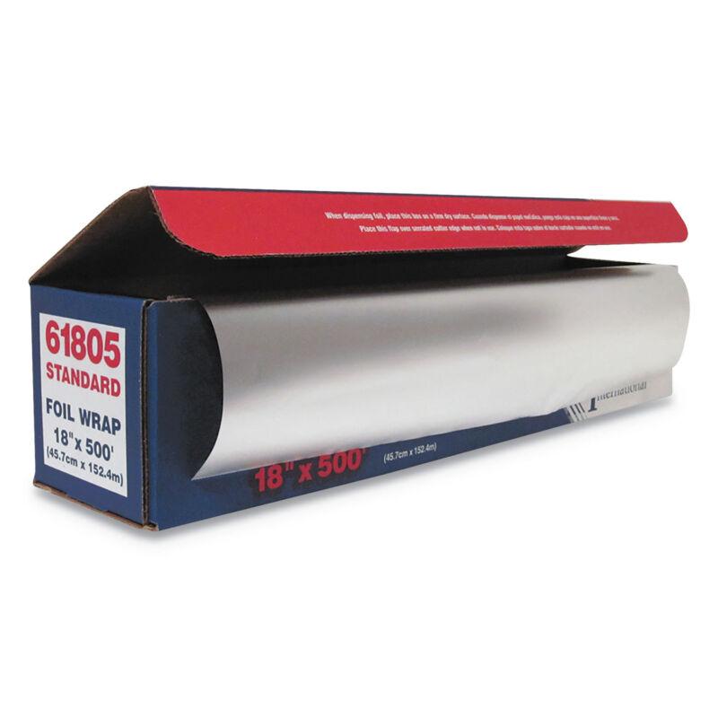 """GEN Standard Aluminum Foil Roll, 18"""" x 500 ft 7114"""