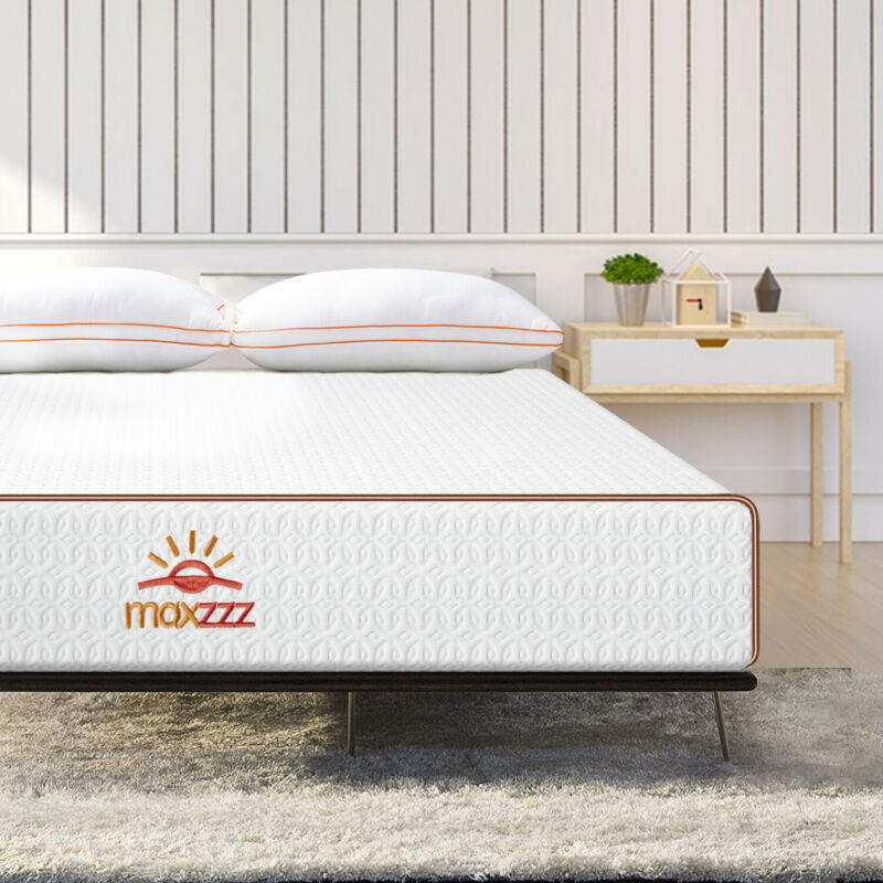 8 Inch Gel Infused Memory Foam Mattress Bed Full/Queen/King Size Medium Firm US
