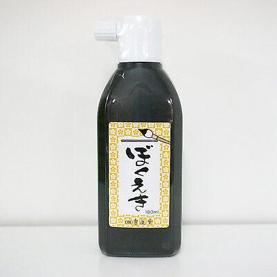 NEW Japanese Chinese Calligraphy Sumi Ink Bokuju 012391 180ml 1 Bottle Free S/H