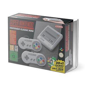Premium-Super-Nintendo-SNES-Classic-Mini-Console-Box-Protector-0-5mm