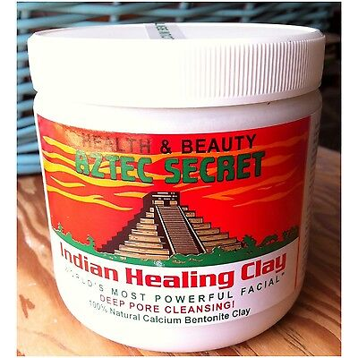 Aztec Secret Indian Healing Clay 100% Natural Deep Pore Cleansing Facial Mask