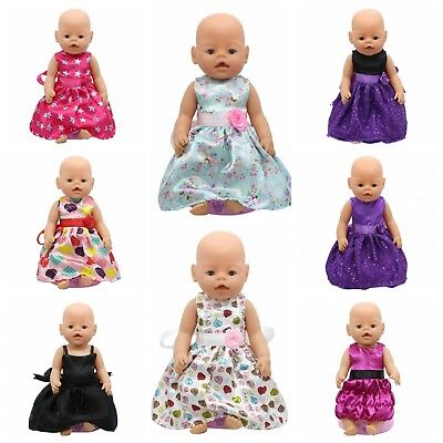 Baby Doll Clothes Princess Dolls Accessories Girls Kids Toys Best Xmas