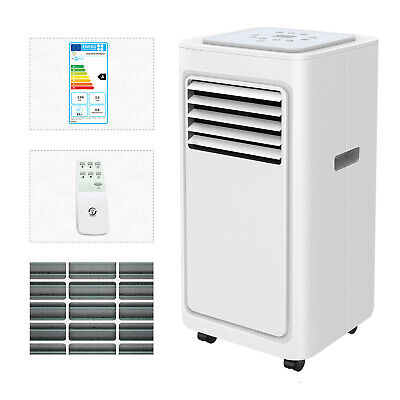4in1 Eco 9000BTU Air Conditioner Portable Conditioning Unit with Remote Class A