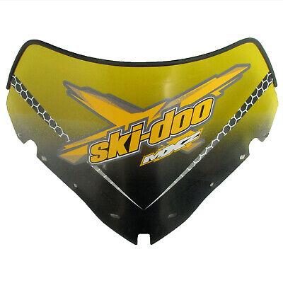 Ski-Doo New OEM Ultra Low Windshield Windscreen Yellow 860200211 REV-XR, REV-XU
