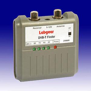 Labgear Digital and Analogue TV Signal Strength Finder