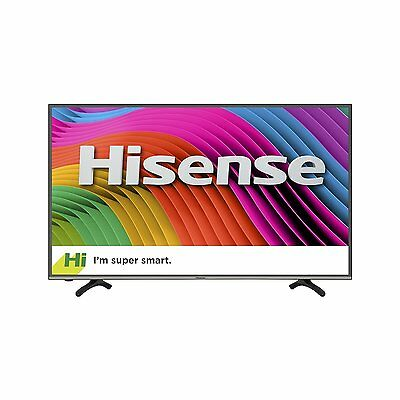 Hisense 50 Inch Ultra HD Smart LED TV, w/ Wi-Fi, 4 HDMI, 2016 Model - 50H7C2