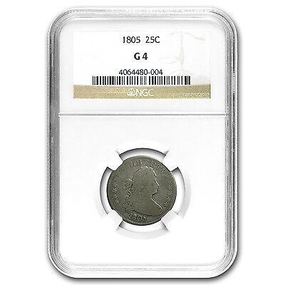 1805 Draped Bust Quarter Good-04 NGC - SKU #95339