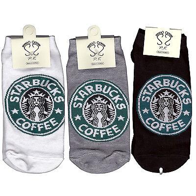 Starbucks Socks Low ankle socks for woman 3 Pair of socks ship:2.35