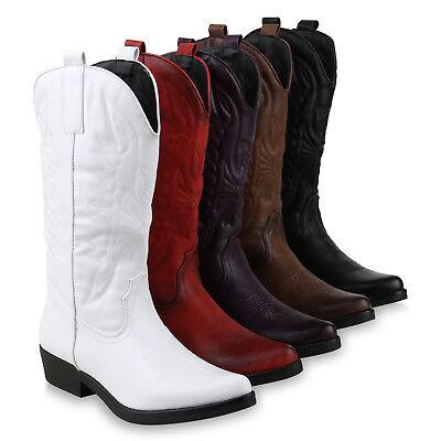 Damen Schuh Stiefel Western (Damen Cowboystiefel Stickereien Western Stiefel Cowboy Boots 825644 Schuhe)