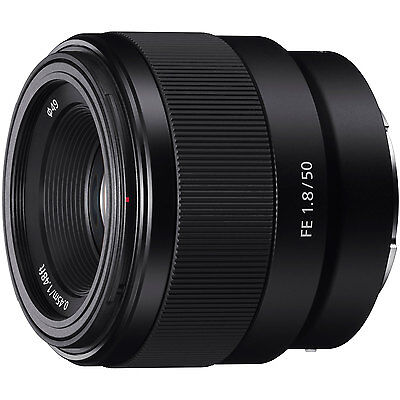 Sony FE 50mm F1.8 Full frame Prime E-Mount Lens SEL50F18F A7 A7R A7S II A5100