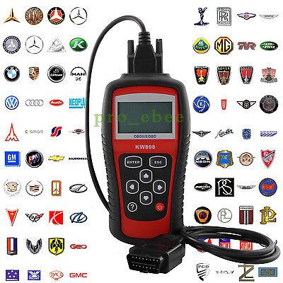 KW808 EOBD OBD2  OBDII Diagnostic Scan Tool Vehicles Car Fault Code Reader