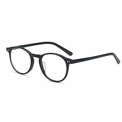 Vintage Round Clear Lens Glasses Non-Prescription Eyeglasses Frame for Women (Prescription Eyeglasses For Women)