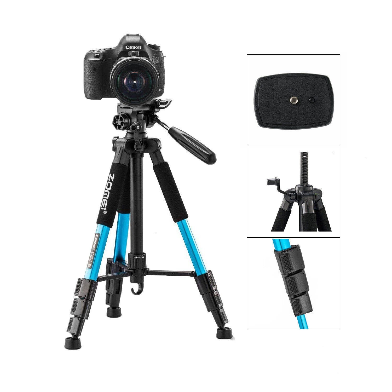 ZOMEI Travel Foldable Tripod//Monopod Panoramic ballhead F//Canon Nikon Sony DSLR
