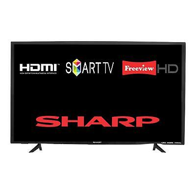 "Sharp 32BC2KO 1T-C32BC2KO1FB 32"" Smart LED HD TV With Freeview Play Tuner"