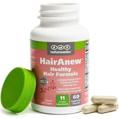 Hairanew Hair Skin And Nails Vitamins For Women & Men - Trusted Suplemento Para