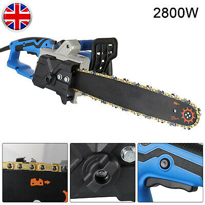 2800W Electric Chainsaw Tree Pruner Branch Cutter Garden Tool Automatic Refuelig