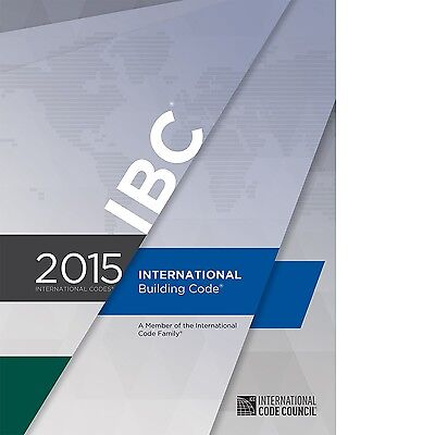 2015 International Building Code (IBC) by ICC (On CD) with 2018 IBC Update