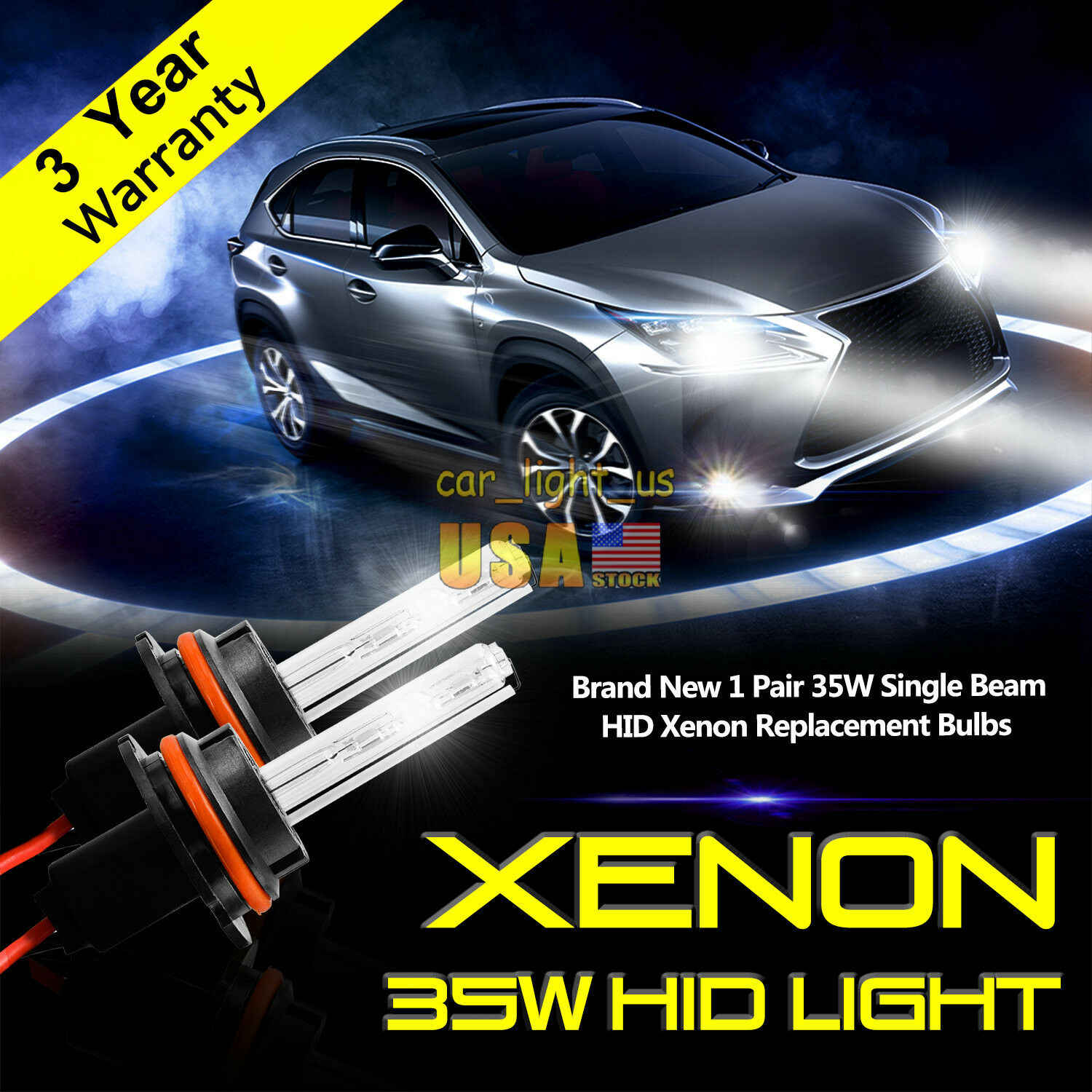 Xenon-Chevrolet 05-10 FULL HID kit h1 h3 h4 h7 h8 h11 9004 9005 9006 9007 880