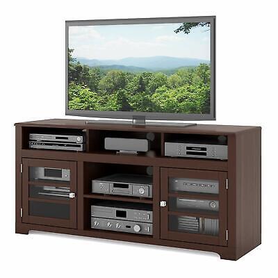 Sonax WB-2649 West Lake TV Stand Bench Media Storage Dark Espresso up to 68