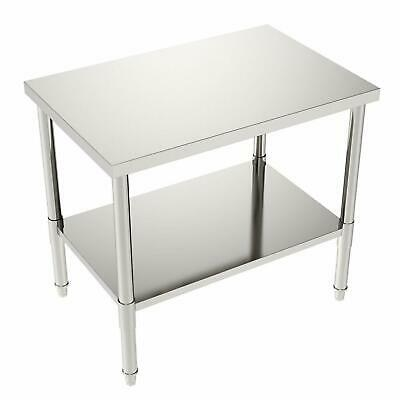 24x36x32 Commercial Stainless Steel Restaurant Kitchen Food Prep Work Table