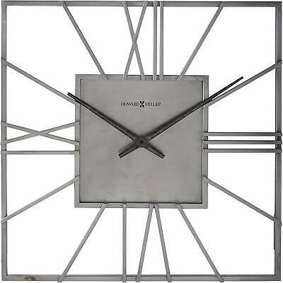 Howard Miller Lorain Wall Clock 625-611 – Oversized & Modern, Quartz Movement