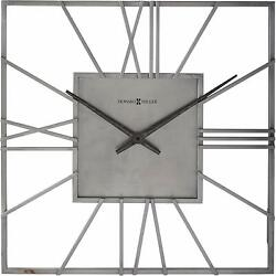 Howard Miller Lorain Wall Clock 625-611 – Oversized & Modern, Quartz Movement
