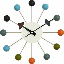 George Nelson Ball Clock [colorful] wall clock Japan