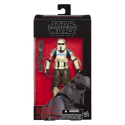 "StarWars The Force Awakens-The Black Series 6"" Figure-Scarif StormTrooper Hasbro"