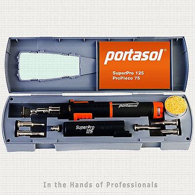 Portasol SP1-K Super Pro 125 Cordless Soldering Kit w/7 Tips 010589330   NEW