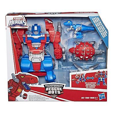 Transformers Rescue Bots Optimus Prime Cool Toys for Kids 3 4 5 6 7 Years Old (Transformers For Kids)
