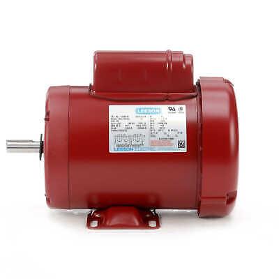 1 Hp 1725rpm 56 Frame 115230v Tefc Leeson Electric Motor Newfree Shipping